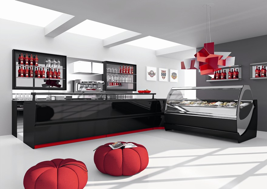 Arredamento per negozio tabaccherie abbigliamento for Ikea arredo bar