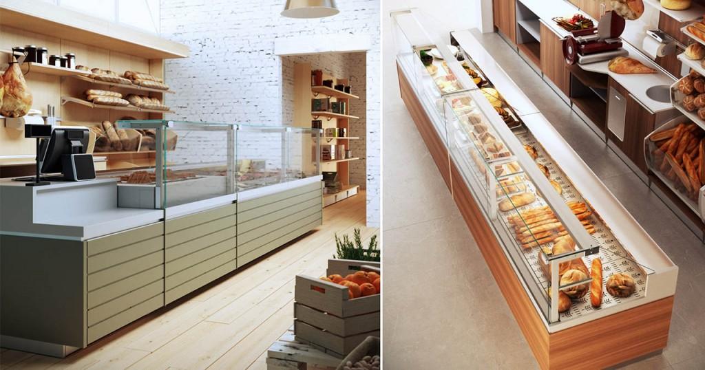 Illuminazione per negozio alimentari arredamento per negozio